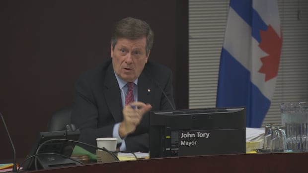 Toronto Mayor John Tory says compromise was necessary to get his transit plan rolling.