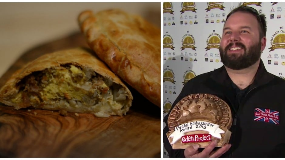 """Canadian Matt Grant was appointed 2016 """"World Pasty Ambassador"""" at this year's World Pasty Championship."""