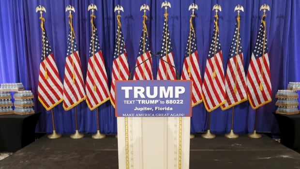 The Republican establishment's dilemma: How to remove Trump's podium without totally fracturing the GOP.