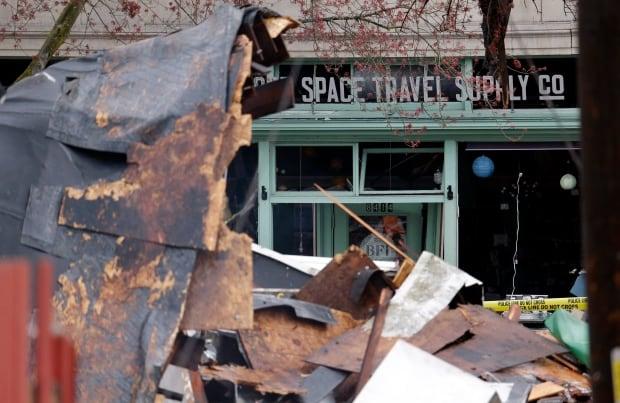 Seattle Explosion