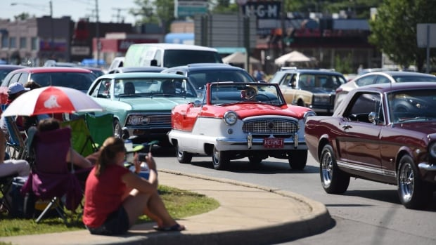Support is growing for a proposal to have a Windsor classic-car event modelled after the Woodward Dream Cruise in Detroit.