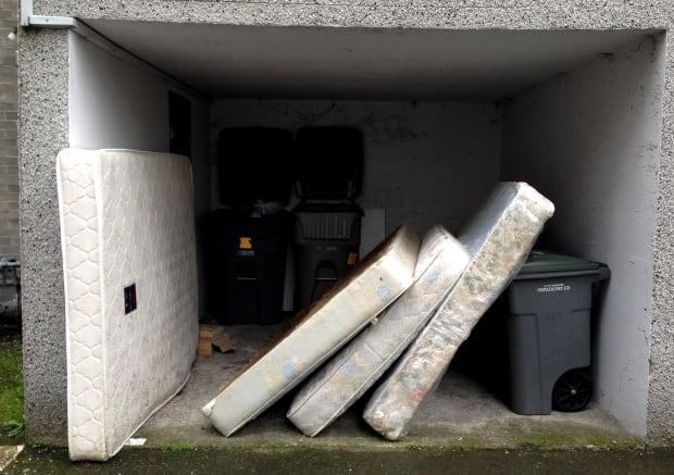 Dumped mattresses