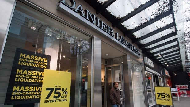 Well-known leather retailer Danier said it has entered insolvency proceedings because of ongoing financial problems, including more than $27 million in losses over the last two years.