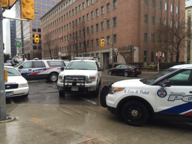 Toronto stabbing suspect Church and Charles Streets
