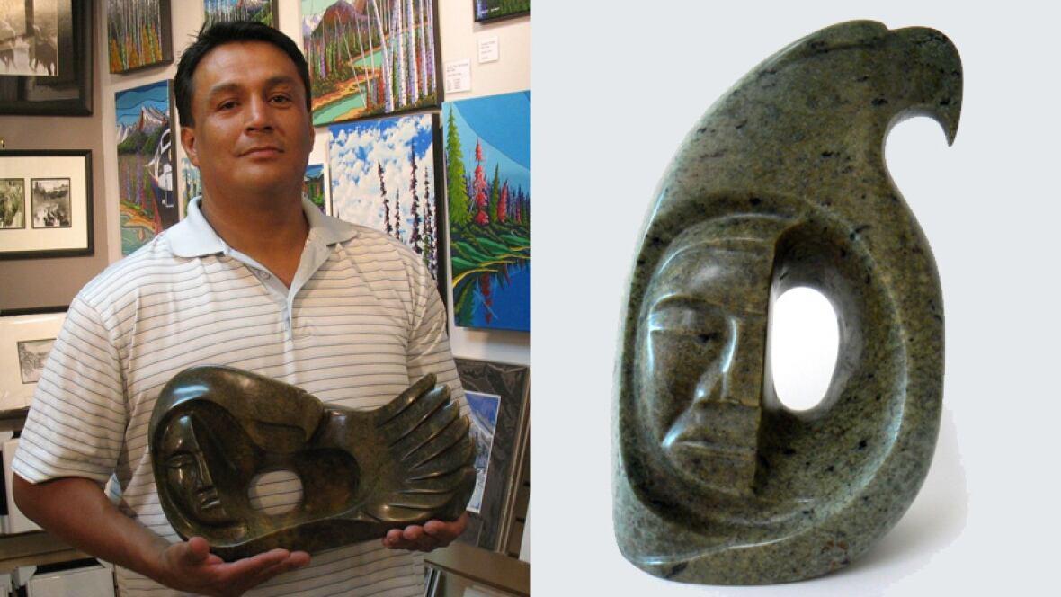 Trudeau presents alberta artist s sculpture to obama