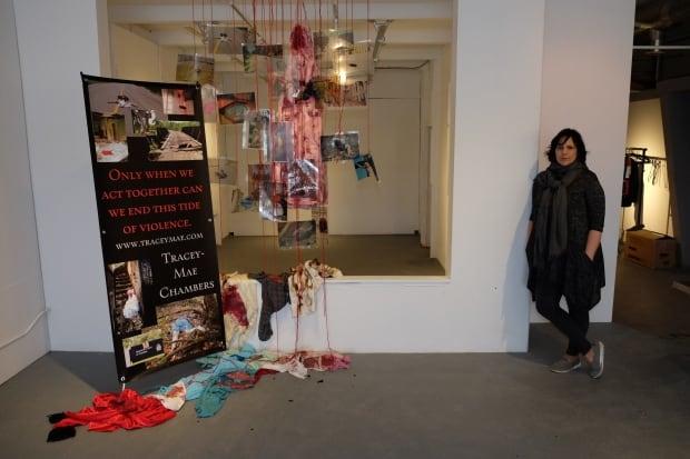 Tracey-Mae Chambers display