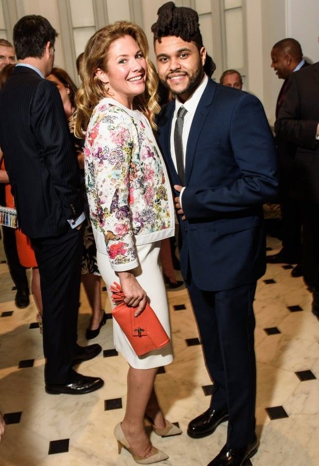 Sophie Gregoire-Trudeau and The Weeknd