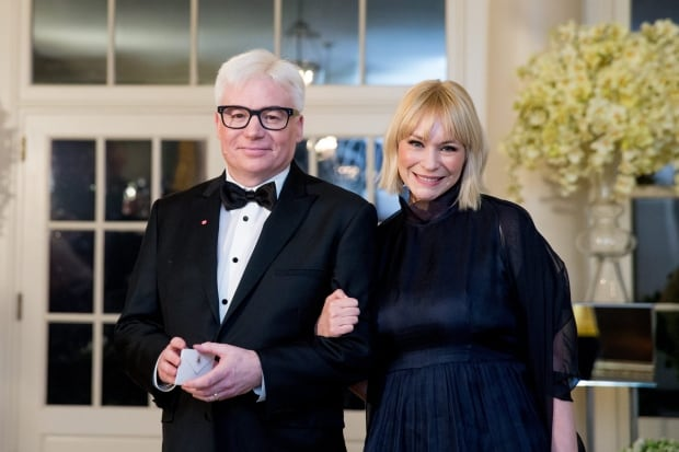 Mike Myers and his wife Kelly