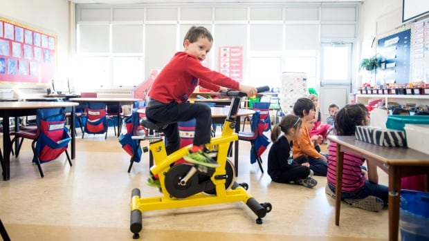 The tiny yellow bike is a symbol of a growing revolution in Canadian classrooms. Students used to be taught to stay quiet and still. Now, amid a shift in how educators understand and embrace various styles of learning, such bikes are helping to boost moods, relieve stress and regulate energy in students of all ages.