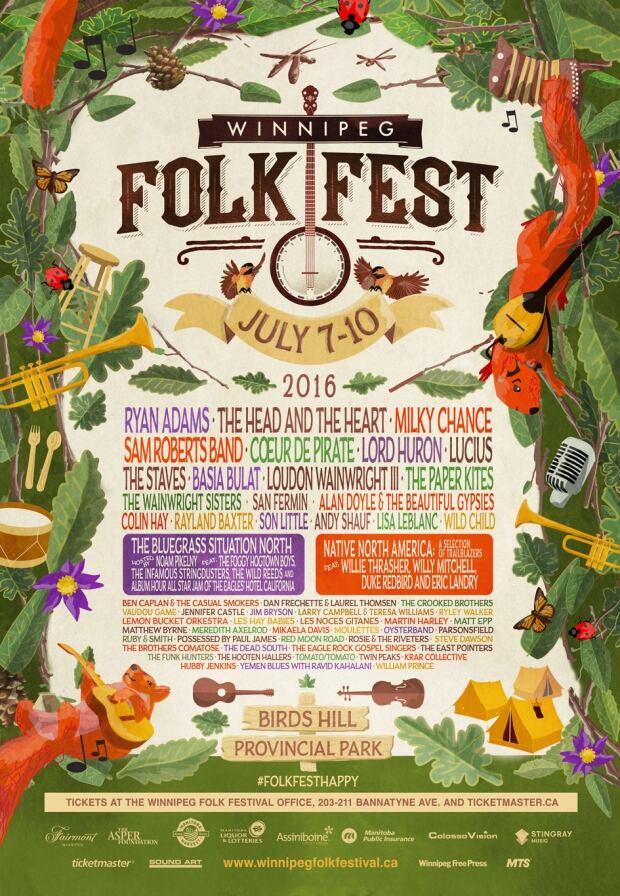 Folk Fest poster