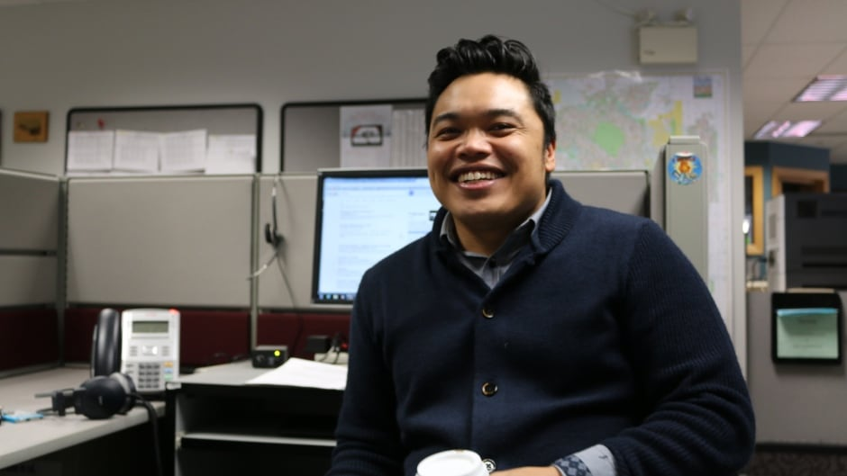 Calgary boy and DNTO guest host Chris dela Torre.