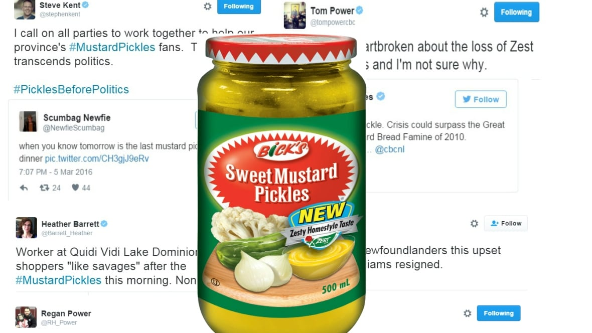 No More Sweet Mustard Pickle Desert Promises Bick S