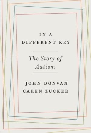 "Bok cover for "" In a Different Key: The Story of Autism"""