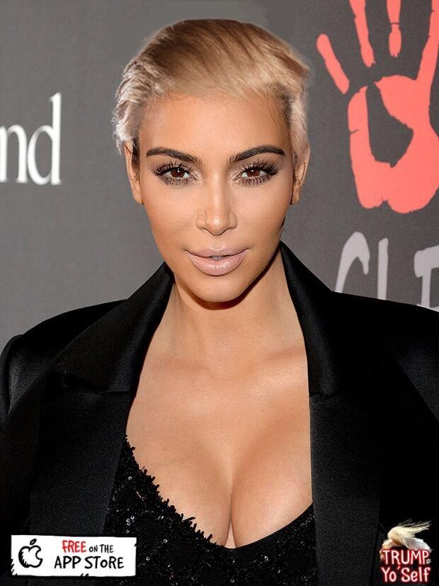 kim kardashian donald trump app