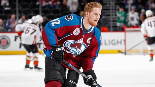 Colorado forward Gabriel Landeskog says he remembers being unable to watch television for a week, bothered by lights and noise as he recovered from a concussion.