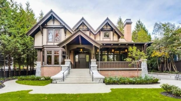 This Vancouver house is currently listed for sale at $26,880,000.