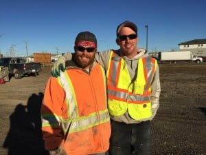 Workers in Fort St John