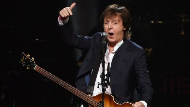 Paul McCartney performs at First Niagara Center, Thursday, Oct. 22, 2015 in Buffalo, N.Y.