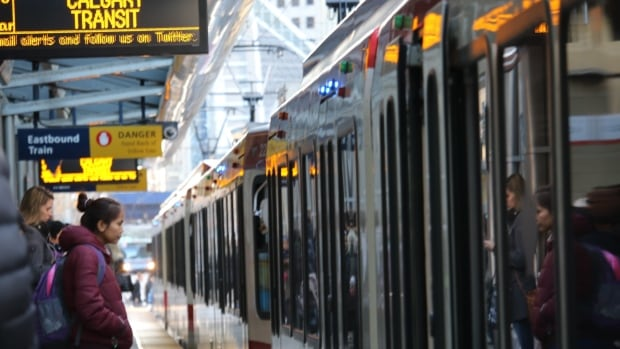 Calgary Transit boosts security as 'social disorder' rises at CTrain stations | CBC News