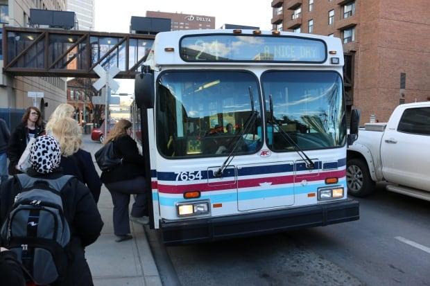 Calgary 6155 transit bus