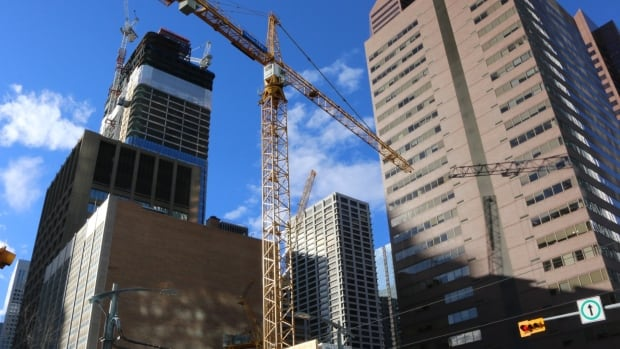 Non-residential construction in Calgary was down more than 15% in the second quarter of this year, compared to the same period in 2016, according to Statistics Canada.