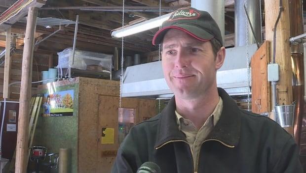 scott deugo fulton's maple sugar shack bush syrup producer