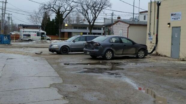 East Kildonan crime scene, Winnipeg Police