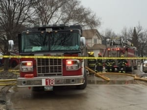 Charleswood house fire, Matlock Crescent