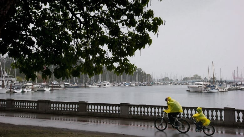 Get your umbrellas ready. B.C. coast to be hit with a wet, windy weekend