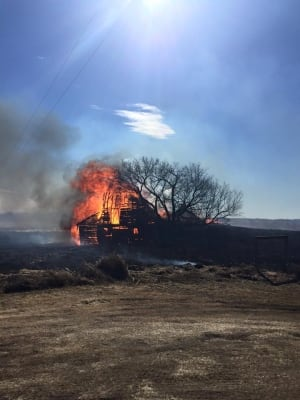 Virden grass fire 1