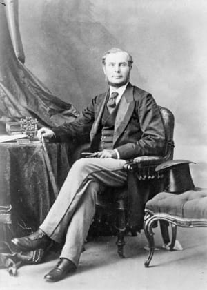 Sir John Rose, Canada's finance minister in 1867