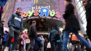 Times Square Toy Store