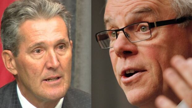 Brian Pallister's Progressive Conservatives still have a commanding lead over the New Democrats led by Greg Selinger heading into the spring provincial election.