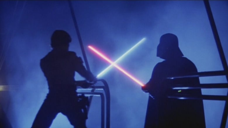 luke and vader fight with lightsabers
