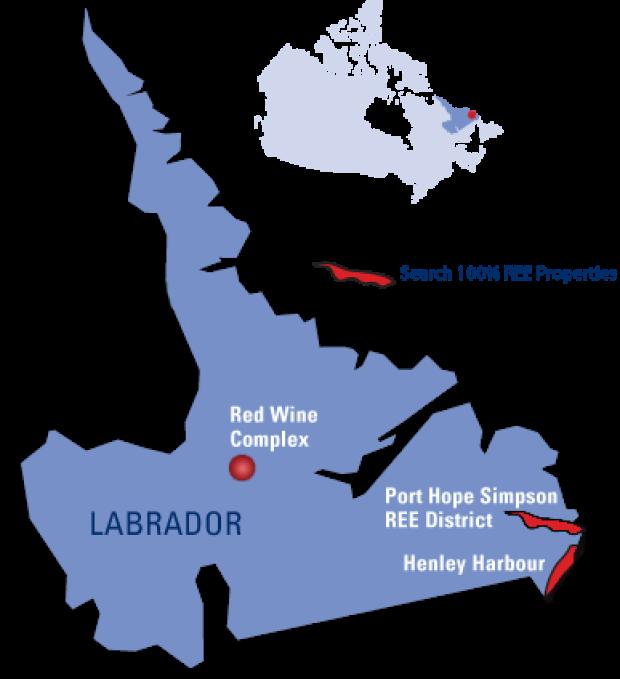 Search Labrador map