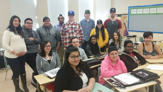 Students in Eman Demmans' class created a video showcasing their school.