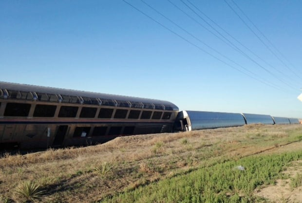 Train Derailment Kansas