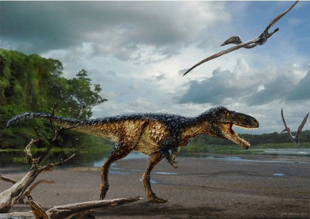 Timurlengia euotica tyrannosaur