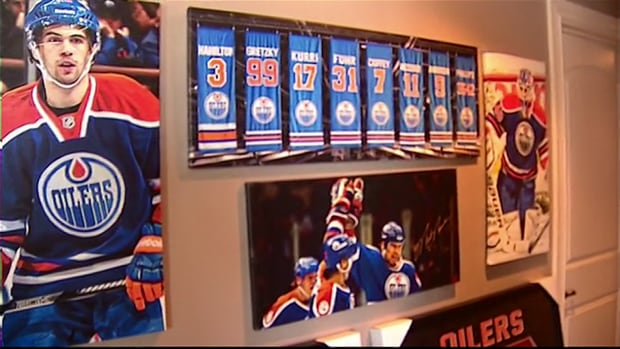 Ken Egilsson Oiler fan collection