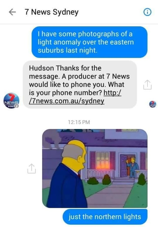 Simpsons Facebook prank