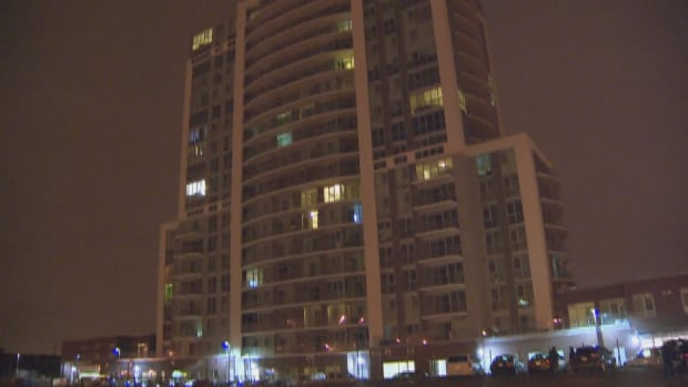 A man has been seriously injured after a shooting in the underground parking lot of a building on Birchmount Avenue.
