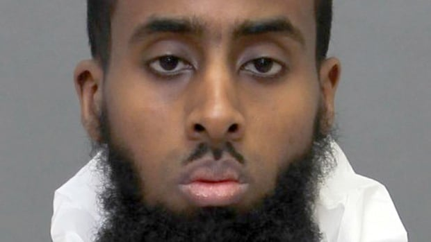Ayanle Hassan Ali, 27, is facing nine criminal charges following an attack on a Canadian Forces recruitment centre in Toronto. Officials at Toronto's Pearson airport confirmed Wednesday that he had once worked there for a third-party tenant.