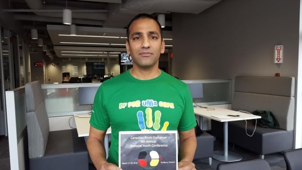 vibhor garg is the co-executive director of the Canadian Roots Exchange.