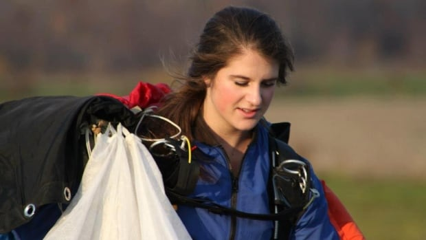 GO Skydive instructor Carolyne Breton broke both of her legs after spiraling to the ground July 8, 2015.