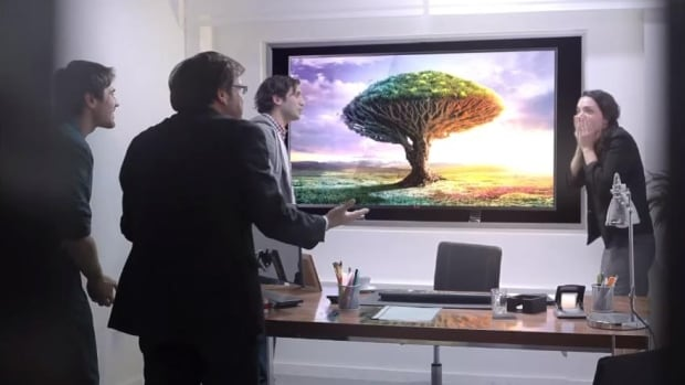 This ad for LG TVs uses the familiar model of 'prankvertising,' or basing the advertisement on a prank. The supposed victims of the prank in this spot, however, were actors.