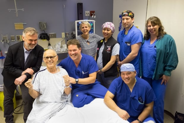 group photo heart procedure Vancouver general hospital