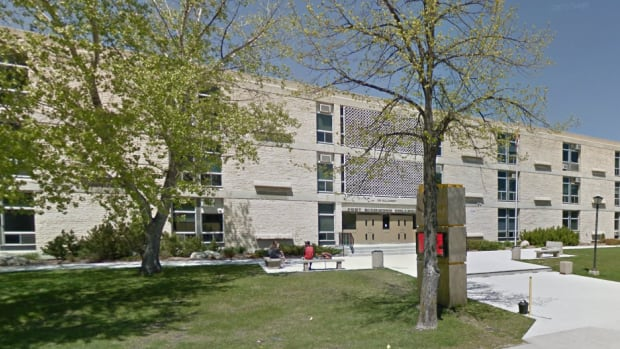 Students were evacuated at Fort Richmond Collegiate after a student sprayed about a dozen people with bear spray.