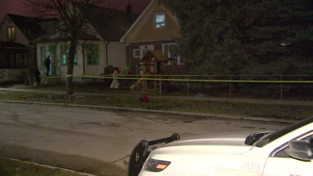 Police investigate a stabbing Tuesday night on the 400 block of Garlies Street.