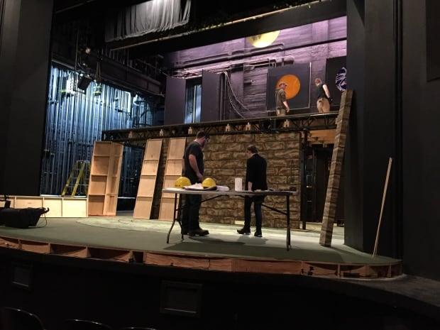 Neptune theatre stage work
