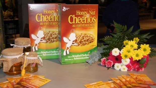 Ten million boxes of Honey Nut Cheerios are being sold in North America promoting the Bring Back the Bees campaign.